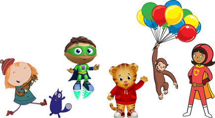 PBS Kids Super Why Characters