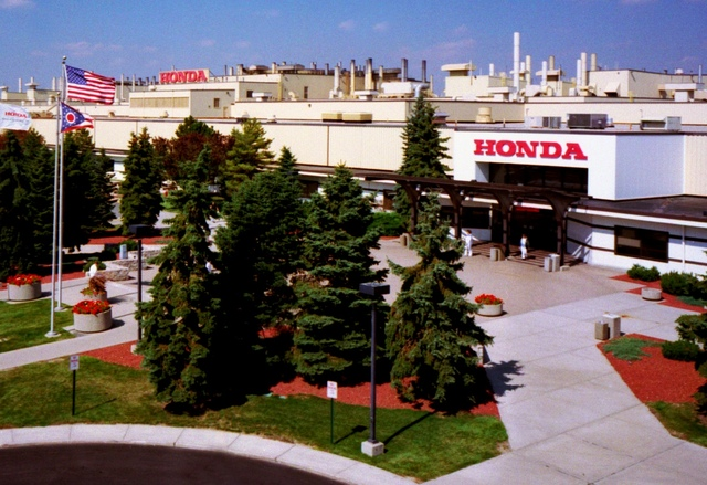 Latest line of hybrids coming to honda 39 s first u s plant for Honda marysville oh