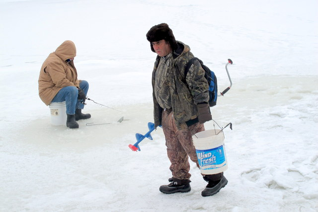 Ice Fishing Hooks The Brave And The Cold Ideastream