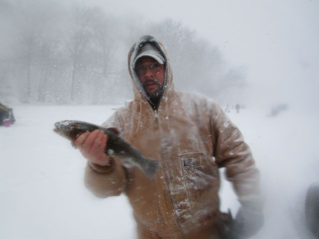 Inaugural ice fishing derby draws dozens of hearty anglers for Cleveland metroparks fishing report