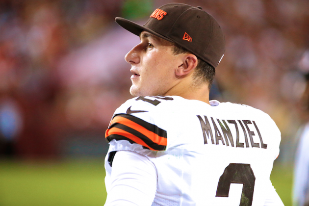 Cleveland Browns fan bids farewell to Johnny Manziel with Adele, obviously