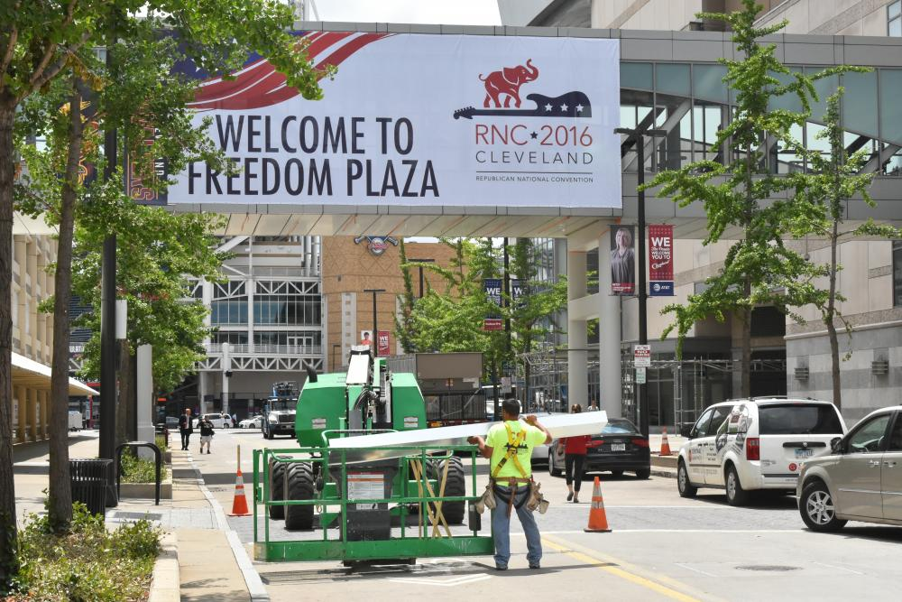 Cleveland police to wear body cameras during GOP convention