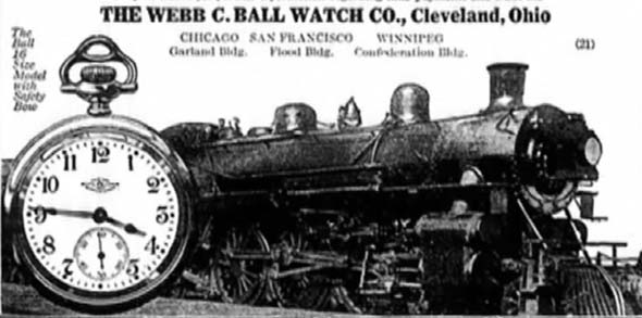 Ad for the Ball Watch