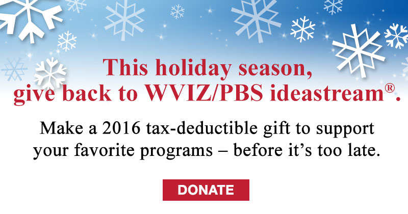 Pledge your support to WVIZ/PBS!