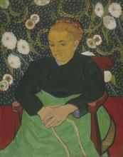 La Berceuse (Augustine Roulin), February 1889. Vincent van Gogh, Museum of Fine Arts, Boston