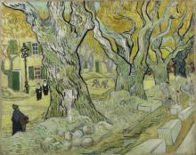 The Road Menders, Saint-Rémy, December 1889. Vincent van Gogh, The Phillips Collection, Washington, DC