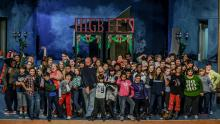 The Cast of Near West Theatre's A Christmas Story: The Musical