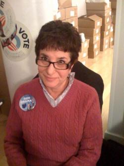 Eda Klinger has devoted the last few weeks to the Obama campaign.