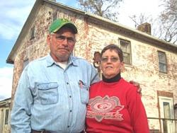 Kent and Nancy Pickard live in an 1811 house, built by a Quaker settler