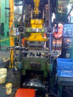 One of the machines at Exact Tool and Die
