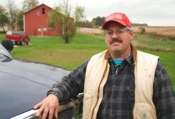 Dave Shoup's family has farmed in this region for better than a century
