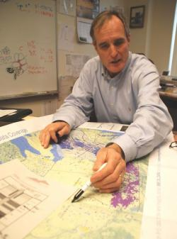Bill Kinney says the safety of oil and gas wells is one of his prime concerns