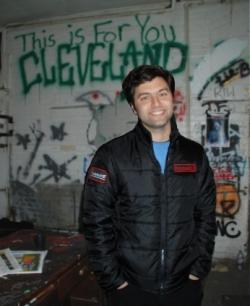 Filmmaker Eyad Zahra shot his film in this Punk Rock Clubhouse on Cleveland's west side