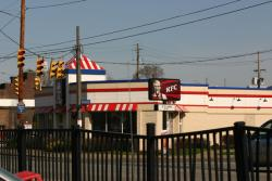 Food deserts often have a high number of fast food restaurants.