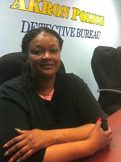 Detective Bertina King of the Akron Police Department