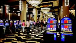 Artist's rendering of casino interior