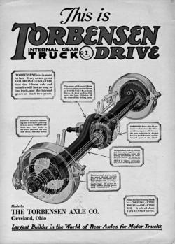 Eaton first rode to success on the Torbensen truck axle