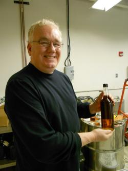 Tom Lix, entrepreneurial founder of Cleveland Whiskey, set to launch in 2012. (Photo by Brian Bull)