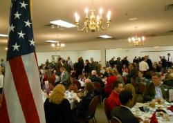This weekend was the Knox County GOP's Lincoln Day Dinner, with 300 guests. (pic by Brian Bull)