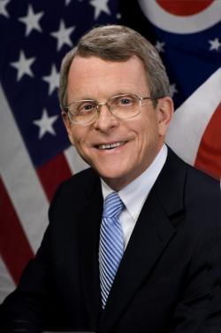 Ohio Attorney General Mike DeWine has put up $75 million in mortgage settlement money, for demolition purposes (official staff photo)