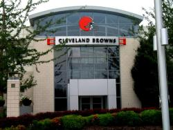 The Browns' headquarters in Berea, Ohio (pic by Brian Bull)