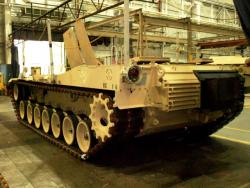 New components and modifications are added, to modernize the Abrams for today's battlefield (pic by Brian Bull).