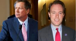 During Gov. Kasich's RNC speech, Cuyahoga Co. Executive Ed Fitzgerald mass-distributed a rebuttal via social media.