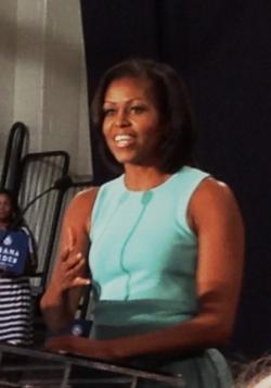 Michelle Obama (stock photo from OPR)