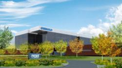 The proposed new Diebold HQ, for Green (image from Diebold Inc.)