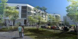 Architectural rendering of Southwest General's expansion, set to be completely finished in October 2014.