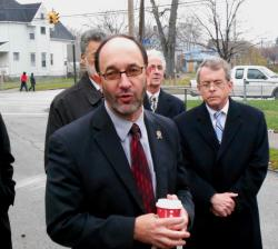 City Councilman Tony Brancatelli, and Mike DeWine (pic by Brian Bull).