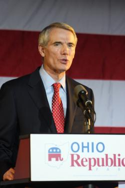 Sen. Rob Portman. Photo by Brian Bull / ideastream