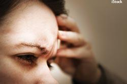 Migraines happen around the eyes and nose.