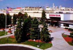 Exterior of Honda's Marysville, Ohio plant (photo from OhioHonda.com)