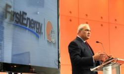 First Energy CEO Tony Alexander announces the new stadium name