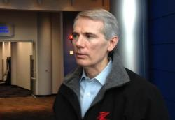Sen. Rob Portman visits aluminum-parts manufacturer Alcoa in January 2013.