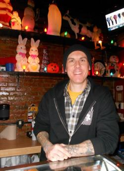Melt Bar and Grilled founder and CEO, Matt Fish, at his Lakewood location (pic by Brian Bull)