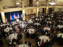 Ohio Democrats gather for their annual dinner (pic by Karen Kasler, OPR)