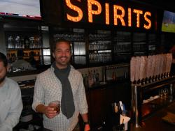 Market Garden proprietor Sam McNulty says it's been hard keeping Cleveland Whiskey in stock (pic by Brian Bull)