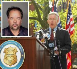 Cuyahoga County Prosecutor Tim McGinty may review the death penalty option for Ariel Castro (inset). (pic by Brian Bull)