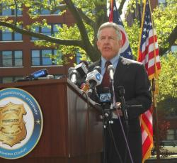 Cuyahoga County Prosecutor Tim McGinty says he'll look into additional charges that may justify death for Castro (pic by Brian Bull)