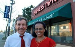 Carl and Senait Robson have run Empress Taytu since 1993