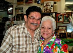 Cesi Castro and his wife Norma