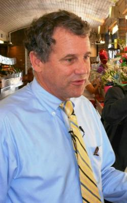 U.S. Senator Sherrod Brown, an Ohio Democrat (stock pic by Brian Bull)