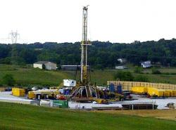 Natural gas drilling has become more prominent in the Northeast Region (pic by Michelle Kanu)
