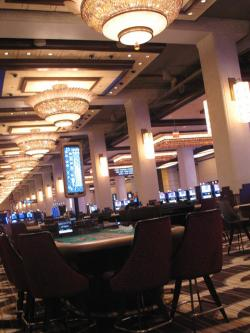 Interior of the Horseshoe Casino in Cleveland (pic by Brian Bull)