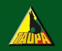The logo to the now defunct Taupa Lithuanian Credit Union, where Spirikaitis served as CEO (from company website).