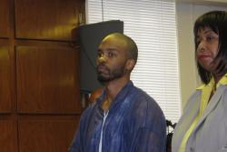 Michael Madison appears in East Cleveland Municipal Court (photo by Bill Rice)