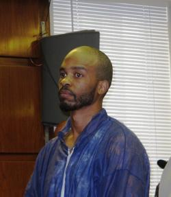 Alleged murderer and convicted sex offender, Michael Madison (photo by Bill Rice).
