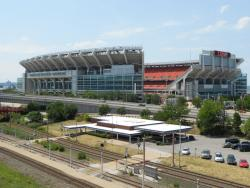 FirstEnergy Stadium, home to the Browns.  Sports is a major economic engine for the region (pic by Brian Bull)